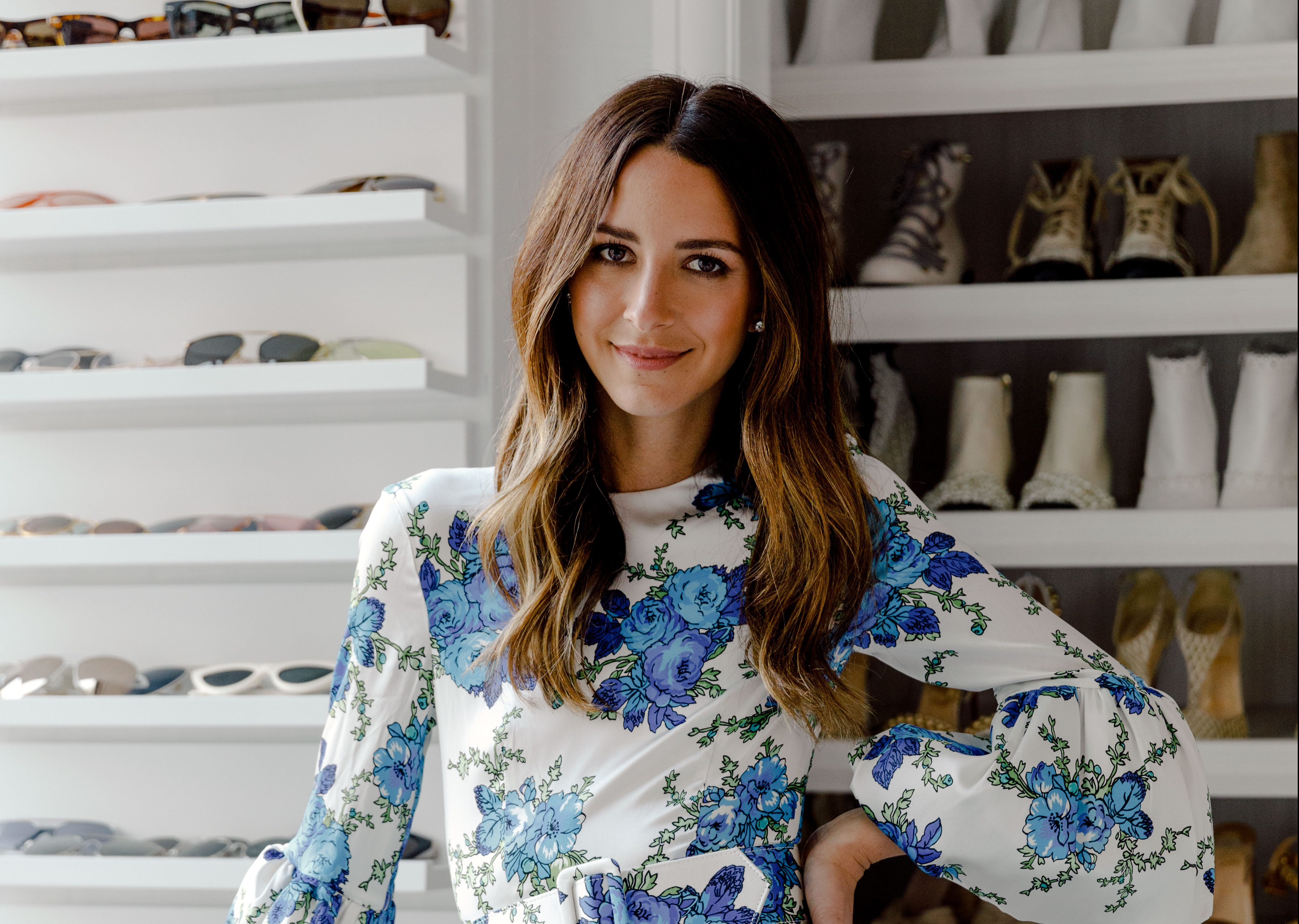 Tour Something Navy Star Arielle Charnas' Huge N.Y.C. Home (You Won't Believe Her Shoe Wall)